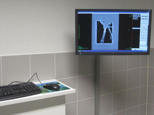 Röntgen in der Tierarztpraxis Dr. Reinartz